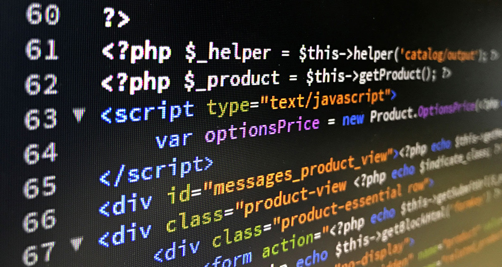 Вставка кода PHP в HTML